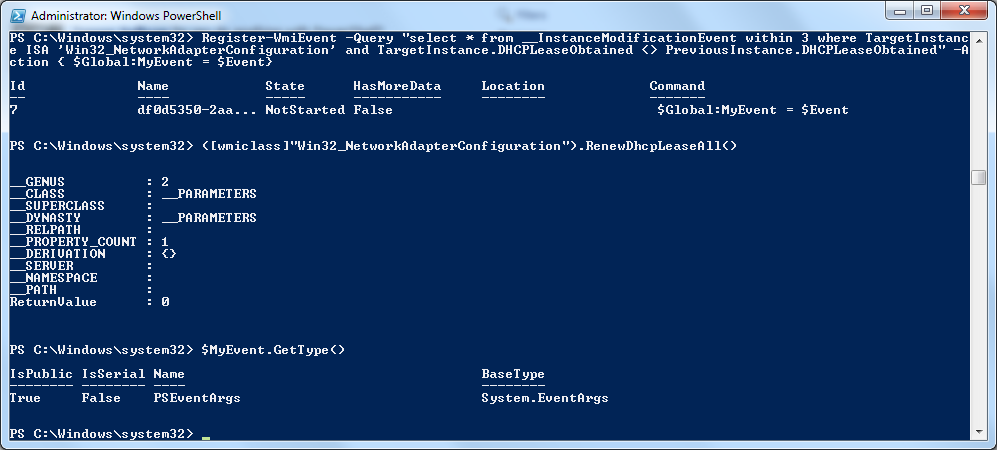 PowerShell-Register-WmiEvent-Advanced-MyEvent