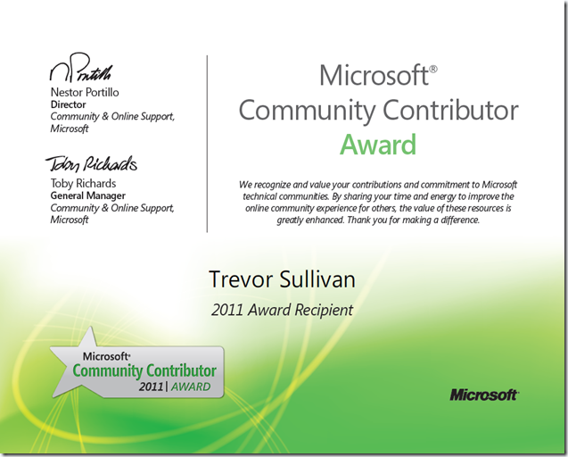 MCC Certificate