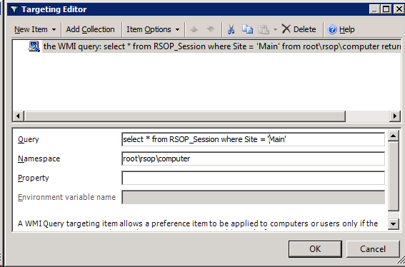 Restricting Settings by Active Directory Site with Only One GPO
